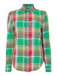 Georgia long sleeve check shirt