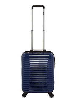 Axial elite blue 4 wheel hard cabin suitcase