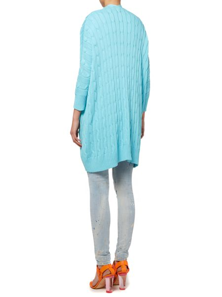 Polo Ralph Lauren Long sleeve cable knit cardigan