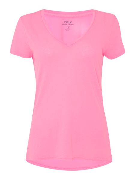 Polo Ralph Lauren Christie plain v-neck t-shirt