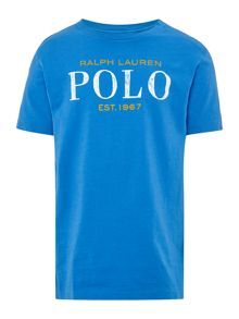 Polo Ralph Lauren Boys Short sleeve Polo Graphic T-shirt