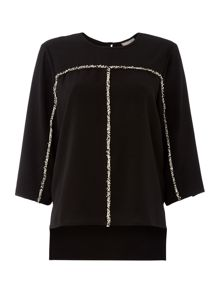 Vero Moda 3/4 Sleeve Top