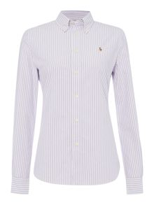 Polo Ralph Lauren Harper long sleeve stripe shirt