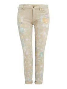 Polo Ralph Lauren Paint splash boyfriend fit jean