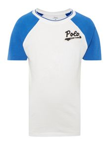 Polo Ralph Lauren Boys Short sleeve Raglan Logo T-shirt