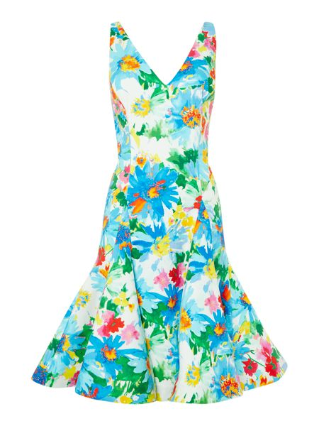 Polo Ralph Lauren Floral fit and flare dress