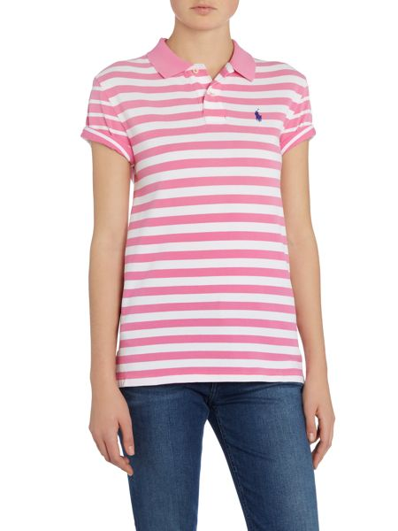 Polo Ralph Lauren Boyfriend fit stripe polo