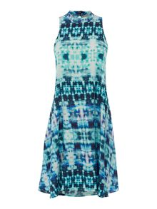 Label Lab Printed trapeze sundress