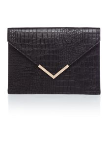 Linea Envelope bar clutch bag
