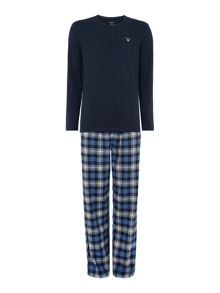 Flannel pant and long sleeve t-shirt gift set