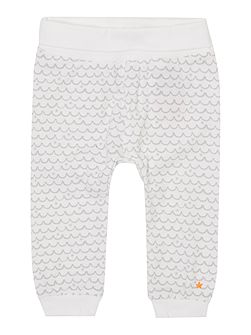 Babys Wave all over print joggers