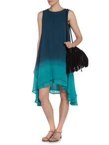 Label Lab Dip dye trapeze dress