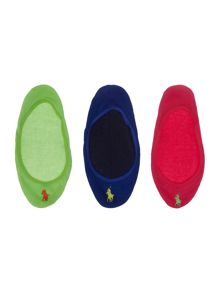 Polo Ralph Lauren Ultra low liner 3-pack