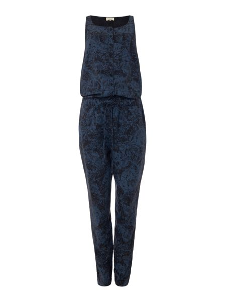 Linea Weekend Fossil print jumpsuit