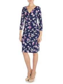 Lauren Ralph Lauren Elsie 3/4 sleeve dress