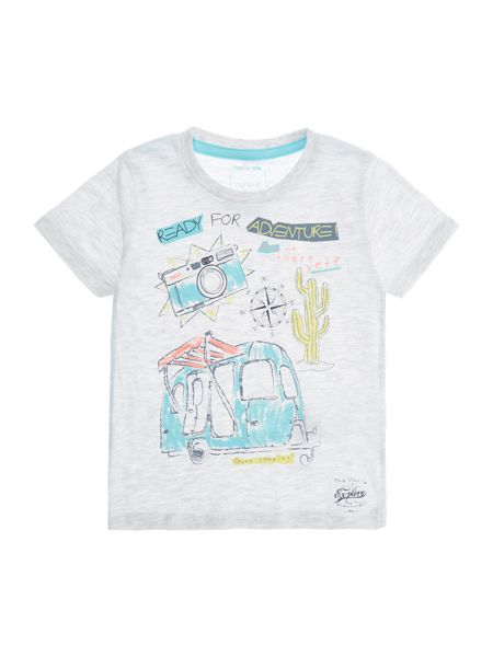 name it Boys Ready for adventure camper graphic tee