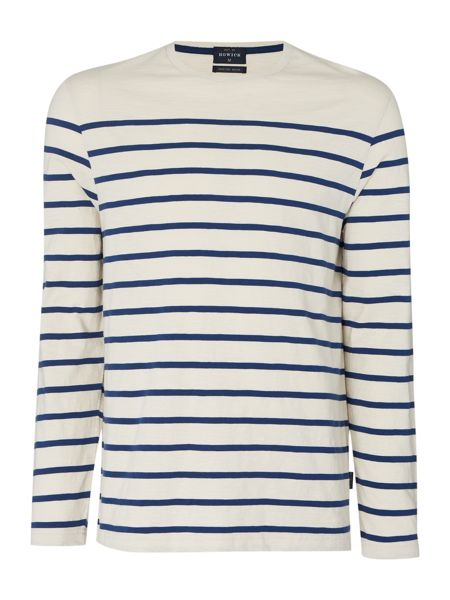 Howick Cherbourg jersey striped tee