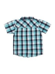 name it Boys Short sleeved check shirt
