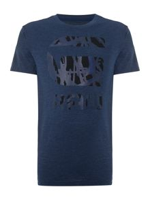 G-Star Frikran regular fit g raw logo print t shirt