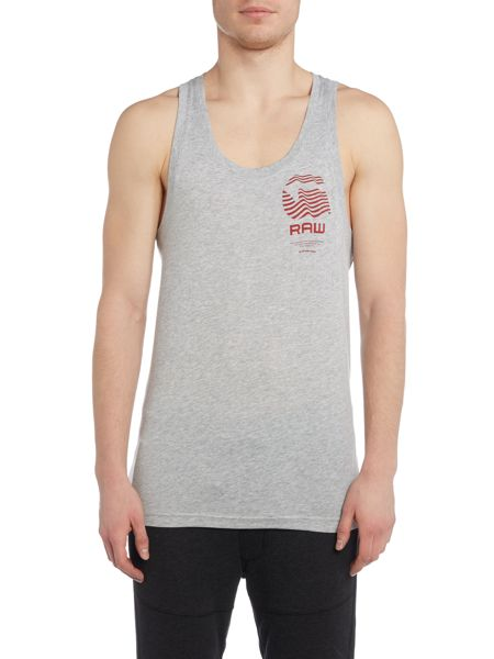 G-Star Rightrex regular fit crew neck tank top