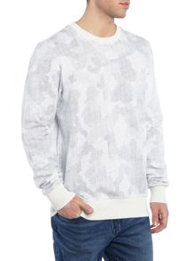 G-Star Ferrous regular fit camo crew neck sweatshirt