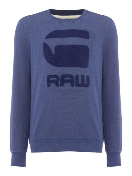 G-Star Resap regular fit logo crew neck sweatshirt