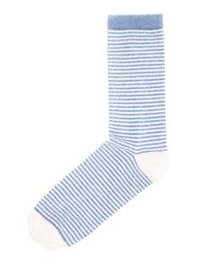 Therapy Stripe Eyelash Sock