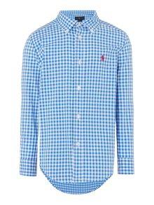 Polo Ralph Lauren Boys Mini Gingham Shirt