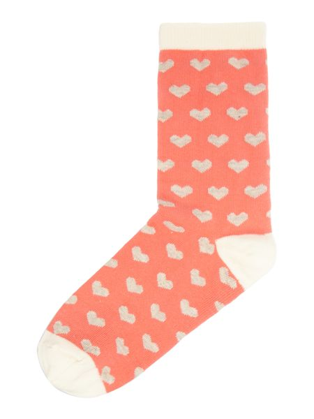 Therapy Ditsy heart sock