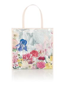 Ted Baker Encon white floral large tote bag