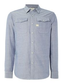 G-Star Landoh regular fit long sleeve oxford shirt