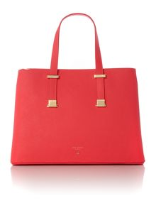 Ted Baker Sevina orange large tote bag