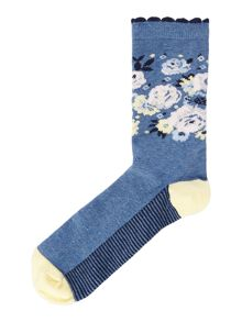 Linea Floral Bloom Sock