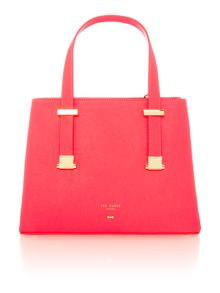 Ted Baker Samirra orange small tote bag