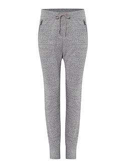 Starling tapered zip pocket tracksuit bottoms