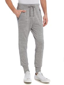 Hugo Boss Starling tapered zip pocket tracksuit bottoms