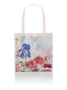 Ted Baker Cyccon grey floral small tote bag