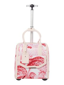 Ted Baker Jennele pink floral travel bag
