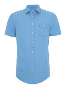 Hugo Boss Eslimye slim fit short sleeve pocket shirt