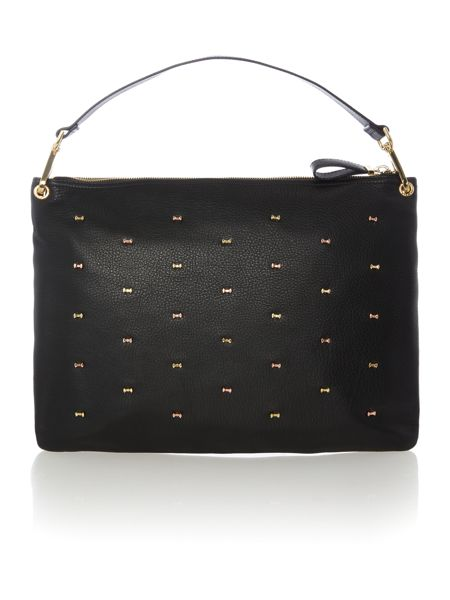 Ted Baker Aletine black large hobo bag