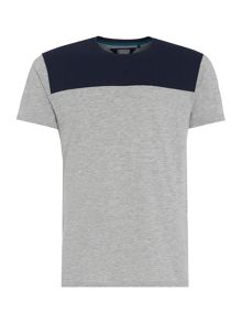 Linea Mason Cut and Sew Crew Neck T-Shirt