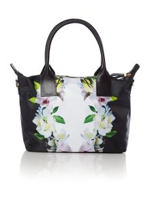 Ted Baker Mariana black floral small tote bag