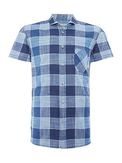 Men's Hugo Boss Ezippoe regular fit bold check