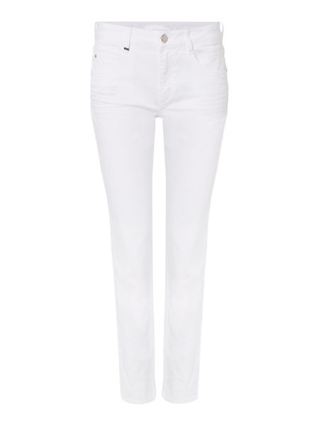 Hugo Boss Nelin Straight Comfort Stretch Crop Jean