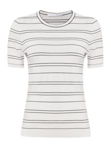 Hugo Boss Filali Nautical Stripe Knit Top
