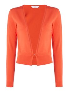 Hugo Boss Fausa Long Sleeve Hook Eye Peplum Bolero