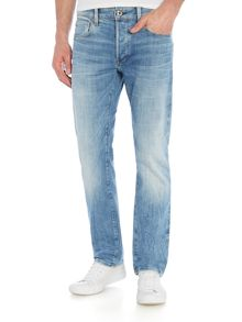 G-Star 3301 Aiden straight stretch light aged jeans