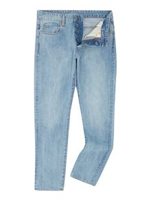 G-Star 3301 Hadron tapered light aged stone jeans