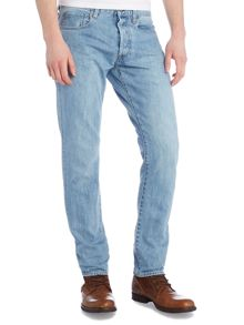 3301 Hadron tapered light aged stone jeans
