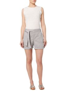 Linea Weekend Linen roll up shorts